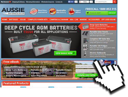 Visit the Aussie Batteries and Solar Website